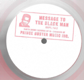 Prince Buster - Message To The Black Man / Chapter 2 (Earth Sound) 10""